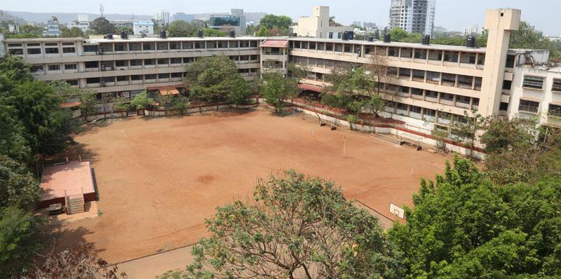 Modern College Campus
